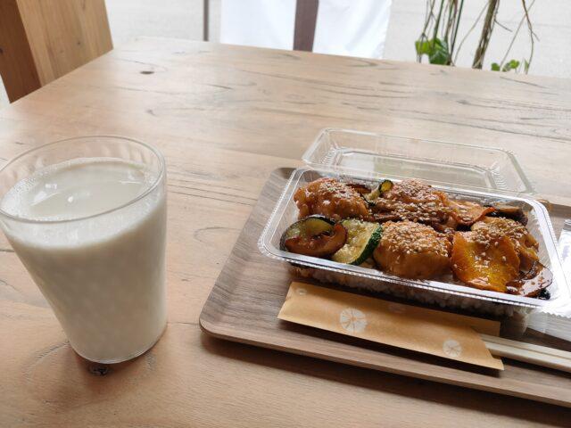小川村おやき大豆食堂